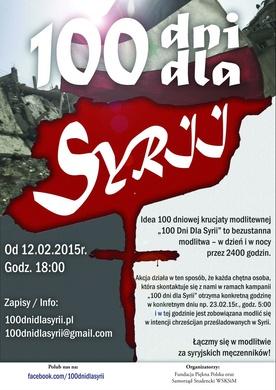 100 dni dla Syrii - rusza modlitwa